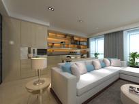 3d客厅模型下载