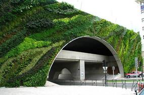 高架桥外立面垂直绿化