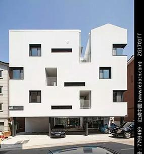 简约建筑开窗设计