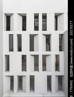 极简主义建筑立面设计