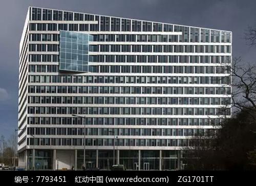 现代时尚办公建筑简约立面设计图片