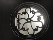 圆形花瓣水泥窗