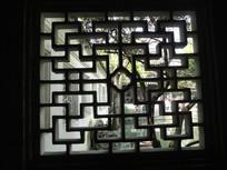 中式花格漏窗