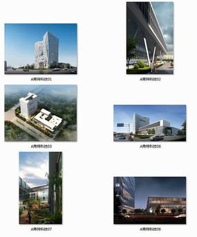 弗特科技办公区建筑效果图