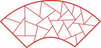 红色扇形冰裂纹镂空窗 JPG