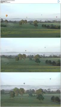 4K澳大利亚热气球实拍视频素材