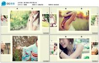 AE CS6小清新夹子照片展示模板