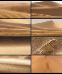 风吹沙漠视频