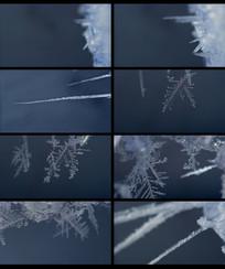 结冰过程延时摄影视频