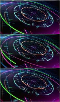 科技动态背景视频