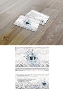 银色尊贵VIP卡