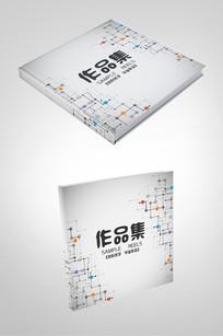作品集封面设计模板