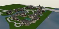大型旅游区度假村规划项目
