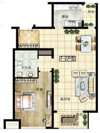 宽敞卧室户型设计平面图