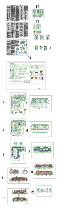 别墅家居CAD图纸