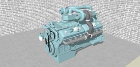 柴油机的SU模型