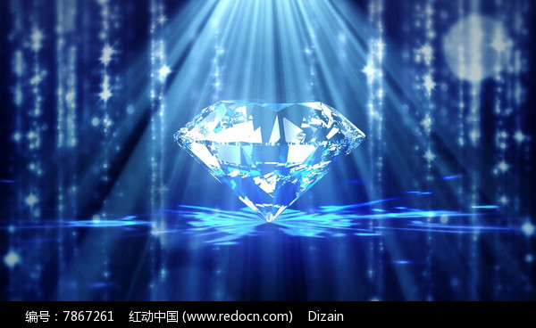 海洋之星卷珠帘钻石类led视频