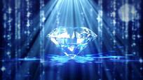 海洋之星卷珠帘钻石类LED视频 mp4