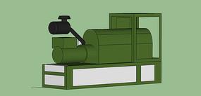 绿色发电机模型