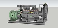 汽轮发电机SU模型