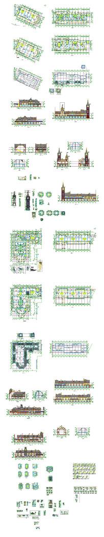 私家别墅建筑设计图纸