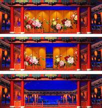 戏曲中国风黄梅戏类LED视频