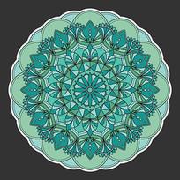 瓷器上花纹图案设计