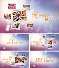 公益活动主题宣传视频AE模板