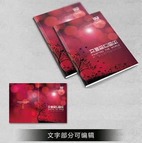 红色波点浪漫小说封面