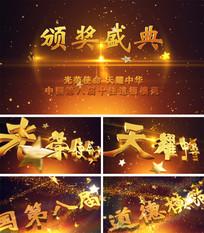 中国十佳道德模范颁奖盛典模板