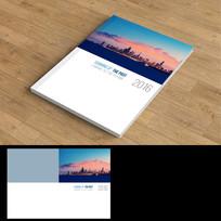 城市夜景画册封面