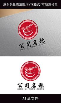 创意餐饮logo设计 AI