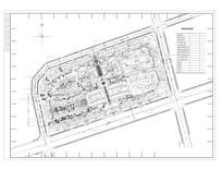 居住小区区规划总图