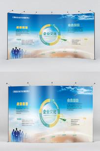 企业发展历程企业文化墙展板