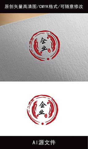 企业中国风logo创意设计