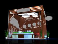 幸福家园房地产销售展厅模型