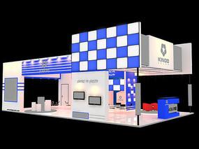 电子科技展厅模型