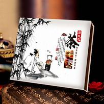 原生态中国风茶叶包装设计模板