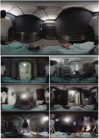 2k超清恐怖医院360vr视频素材
