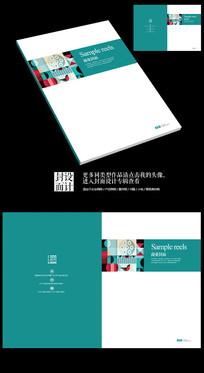 抽象商业练习薄本本封面设计