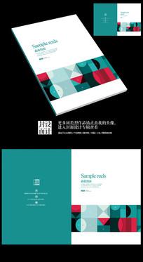 艺术系商业作品展宣传册封面
