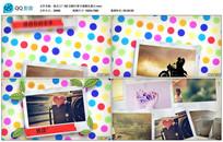 AE CS6可爱卡通婚礼展示视频