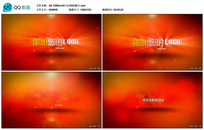 AE CS6眩光粒子logo展示视频