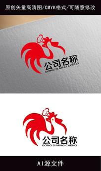 餐饮卡通logo创意设计 AI