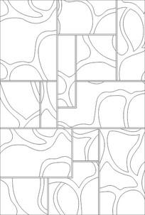 隔断线图雕刻图案