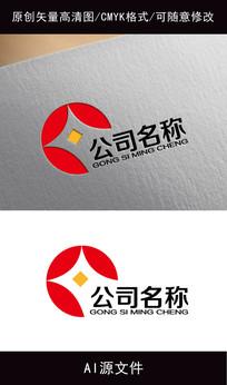 金融投资企业logo设计 AI