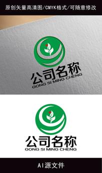 农业企业logo创意设计 AI