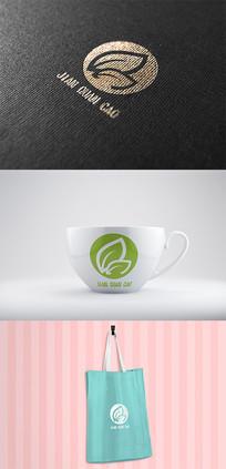 树叶logo标志 AI