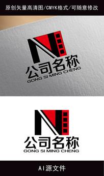 影视企业logo创意设计 AI