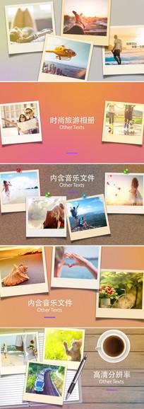 ae旅游摄影照片相册片头模板